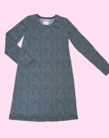 4420 - Leopard meisjes jurkje