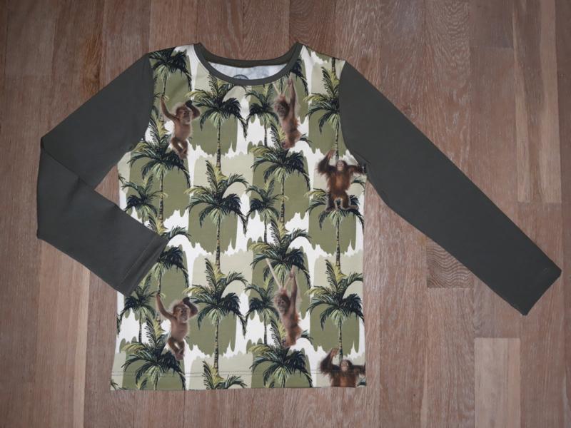 3502 - Aapjes longsleeve of shirt