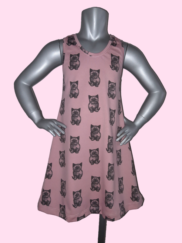 4412 - Zomers poezen jurkje