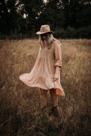 Layer dress short soft PINK
