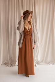 Dress June brown