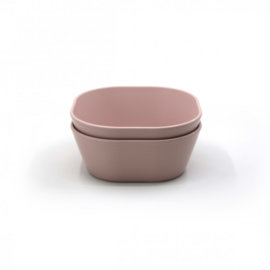 Bowl Square Blush (Set van 2)