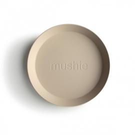 Round Plate Vanilla (Set van 2)