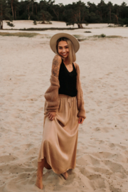 Pocket Skirt Camel