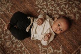 Baby Set Dark Grey & Cream