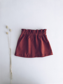 Skirt Burned Orange (Cotton)