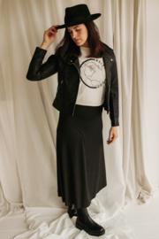 Skirt A-line Black