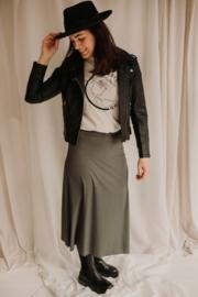 Skirt A-Line Green