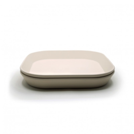 Plates Square Ivory (Set van 2)