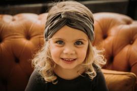 Headband Velvet Taupe