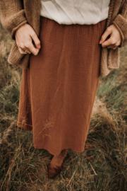 Rok Wafel bruin