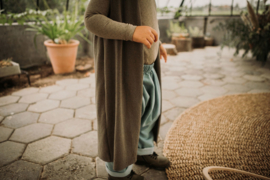 Gilet Taupe Knit