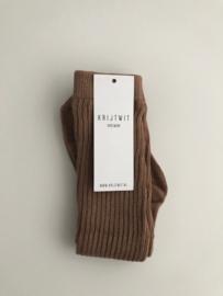Socks Light Brown