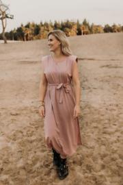 Shoulder dress Pink