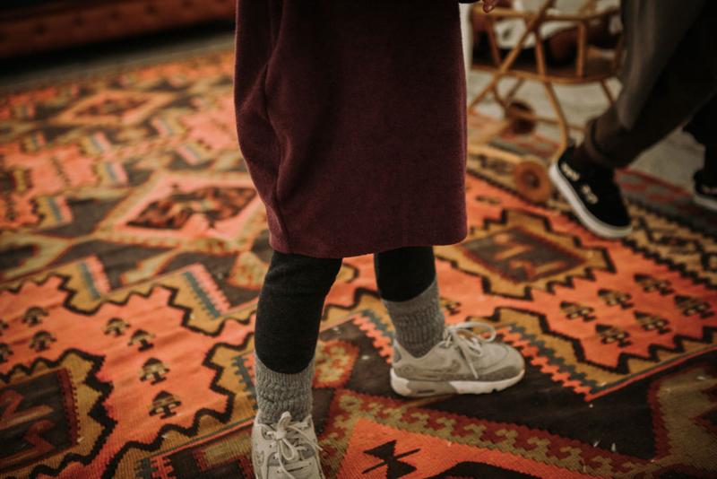 Legging Knit Dark Grey