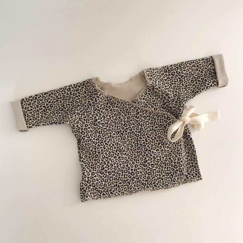 Wrap Top Leopard