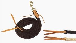 western halstertouw in bruin of zwart