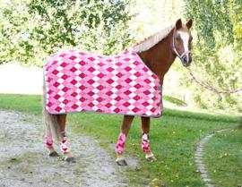 fleece deken pony