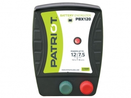 Patriot schrikdraad apparaat voor accu (PBX120)