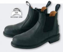 stalschoenen met stalen neus