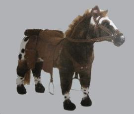 paard met geluid draagvermogen 100 kg