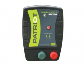 Patriot schrikdraad apparaat voor lichtnet (PMX50)