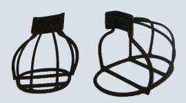 korf stijgbeugels zwart metaal