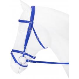 blauw hoofdstel (maat cob)