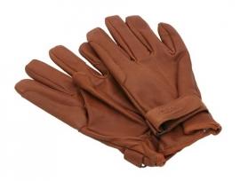 handschoen van hoogwaardig leder, gevoerd