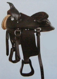 western zadel Indiana voor pony
