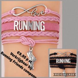 Running armband zwart
