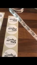 Ronde sticker 45 mm Mindul Walk
