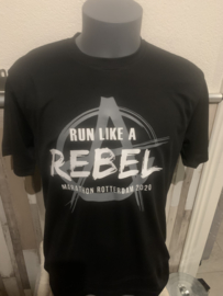 Running rebel Marathon  weekender shirt 2020 + rebelse goodiebag