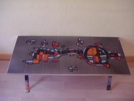 Tegeltafel tableau Adri Belgium / Tile table Adri Belgium
