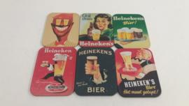 Heineken onderzetters voor glazen / Heineken coasters for glasses