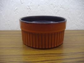 Bloempot 612 oranje 4 cm. / Planter 612 orange 1.2 inch.