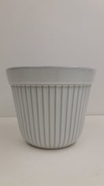 Westraven bloempot in wit nummer 433A / Planter in white number 433A
