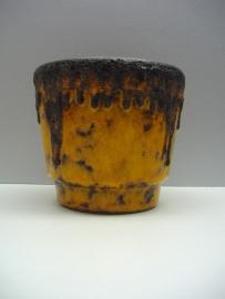 Fatlava bloempot Fohr Roth oranje
