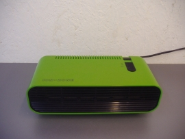 Retro luchtfilter in groen door Kolvin / Retro air filter in green by Kolvin