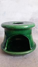 Groninger steenfabriek groen theepot houder 1400 / green teapot holder 1400