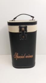 Luxe wijnkoffer met special wines  / Luxury wine case with special wines