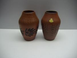 Van Sawa set 2 vazen 256/15 /  By Sawa set 2 vases 256/15