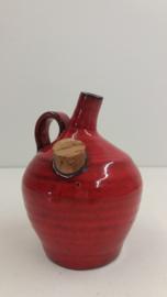 Potterie de Graaf vuurtest rood / Pottery de Graaf fire tess red