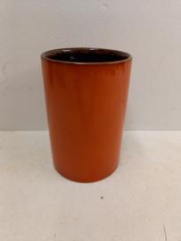 Scheurich 214-18 oranje vaas / 214-1 orange vase