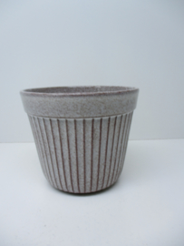 Westraven bloempot in nummer 433A grijs / Planter in gray number 433A