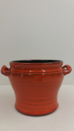 Speck Oranje met oortjes 10.5 x 15 cm. / Orange with little handles 4.1 x 5.9 inch.