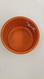 2 Oranje potten nummer 191 en 192 / 2 Orange jars number 191 and 192