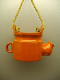 Gietermodel in oranje