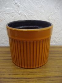 Bloempot 1015/1 oranje 9 cm. / Planter 1015/1 orange 3.5 inch.