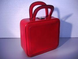 """Handtas - beauty case """"Ladystrip """" / Hand-bag """" Ladystrip """""""